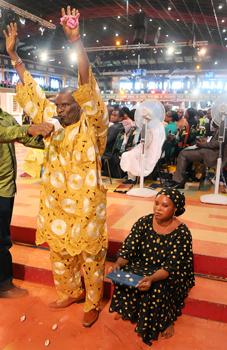 El Sr. y la Sra. Adeyemo