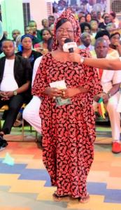 La honorable Salome Audu Jankada (Oficial de la Orden del Níger).